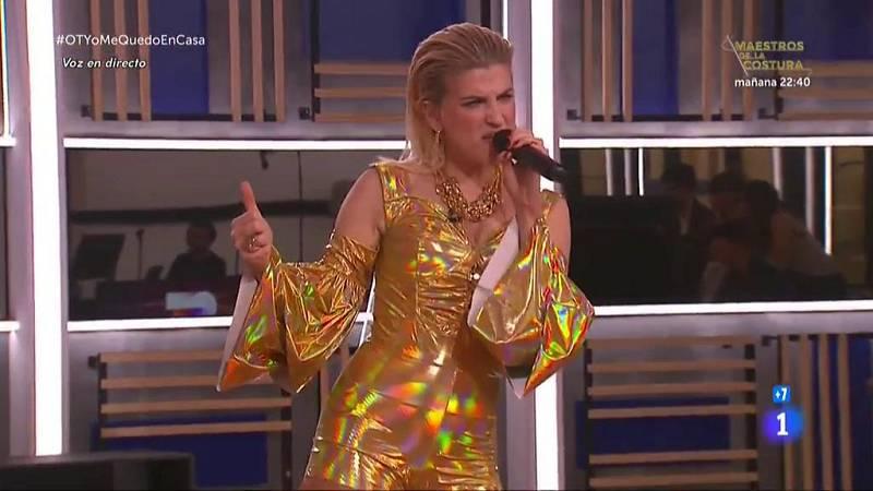 """Samantha canta """"Milionària"""", de Rosalía, en la Gala OTYoMeQuedoEnCasa de Operación Triunfo 2020"""