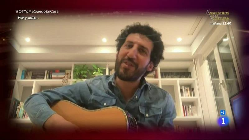 """Marwan canta """"Las cosas que no pude responder"""" en la Gala OTYoMeQuedoEnCasa de Operación Triunfo 2020"""