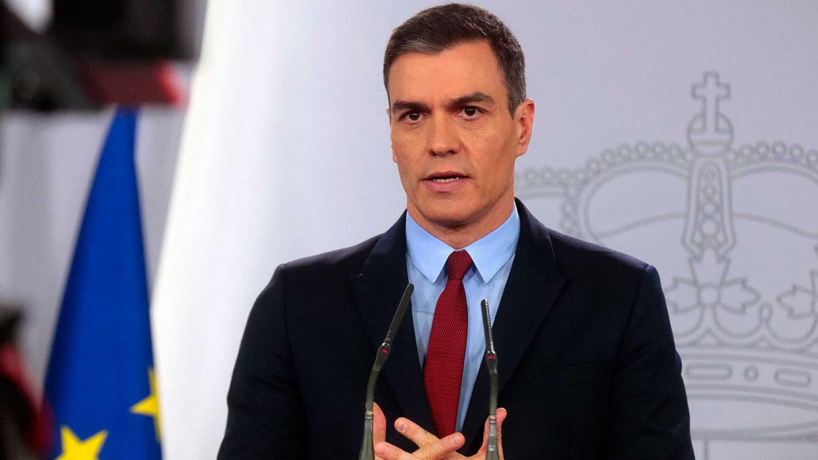 """Sánchez apoya las medidas de Felipe VI en relación con su padre y cree que son """"necesarias y coherentes"""""""