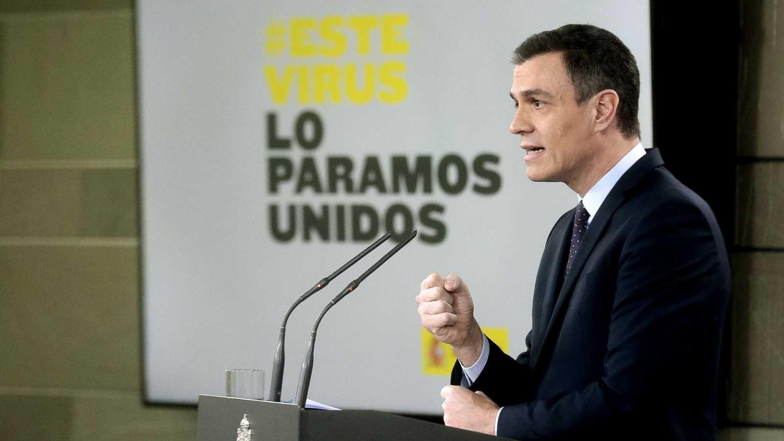 """El Gobierno movilizará 200.000 millones de euros para combatir el """"impacto económico y social"""" del coronavirus"""