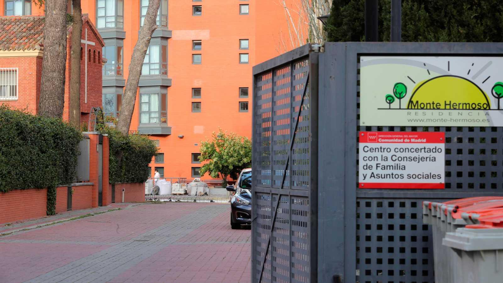 Coronavirus: 17 personas fallecidas y 15 contagiadas en una residencia de ancianos en Madrid