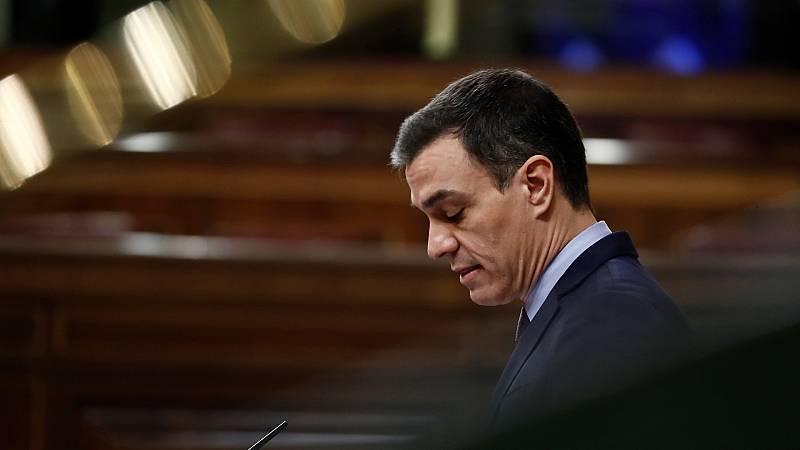 """Sánchez dice que """"lo más duro está por llegar"""" y pide """"sacrificio y unión"""""""