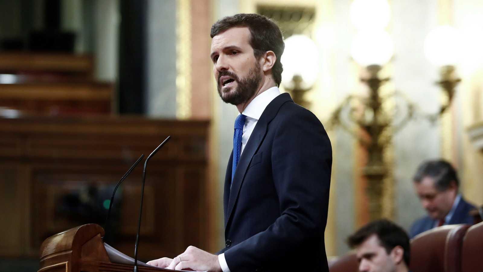 La oposición ofrece su apoyo a Sánchez contra el coronavirus, pero con matices