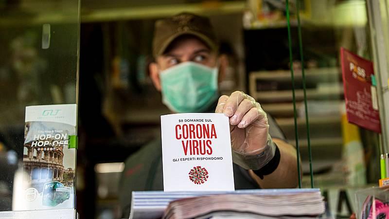 Los muertos con coronavirus en Italia se acercan ya a los 3.000, al subir 475 en un día