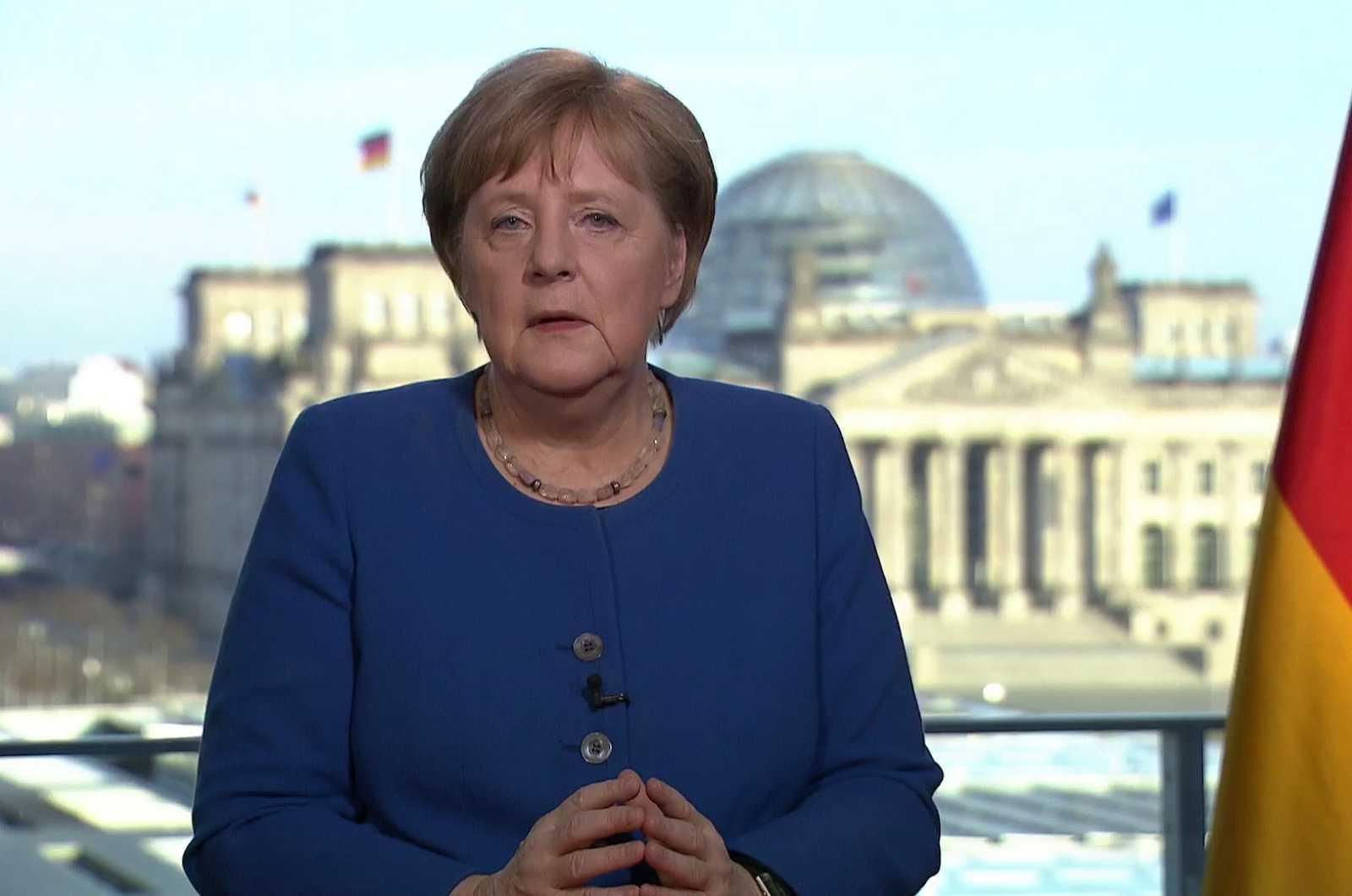 Merkel urge a Alemania a cumplir con el cierre de vida pública por el coronavirus