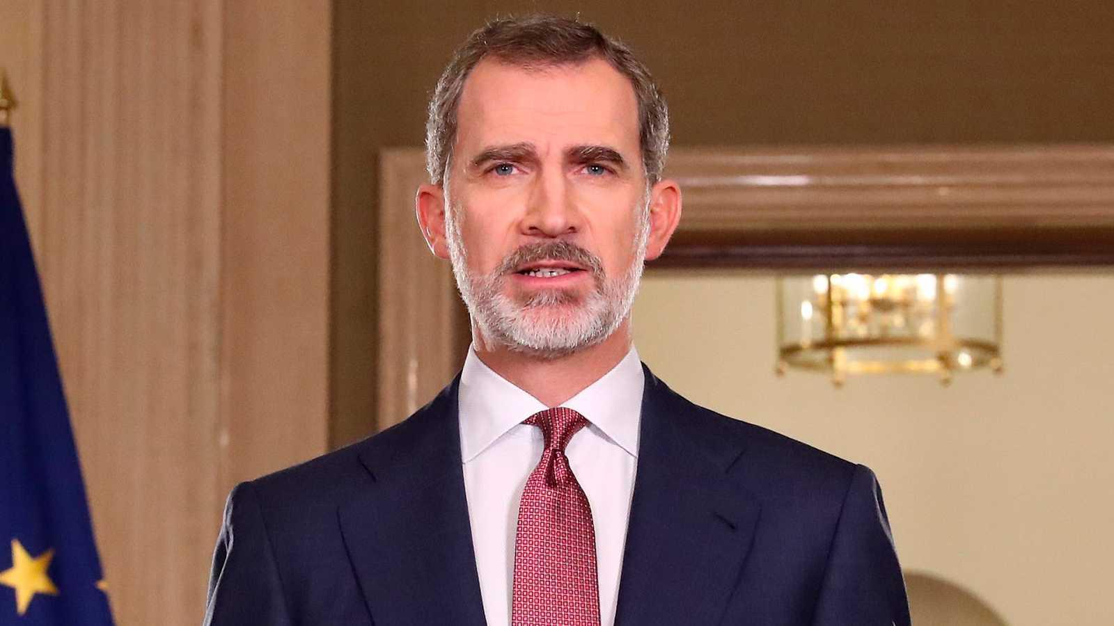 """El rey, ante la crisis del coronavirus: """"Vamos a dar ejemplo una vez más de responsabilidad y sentido del deber"""""""