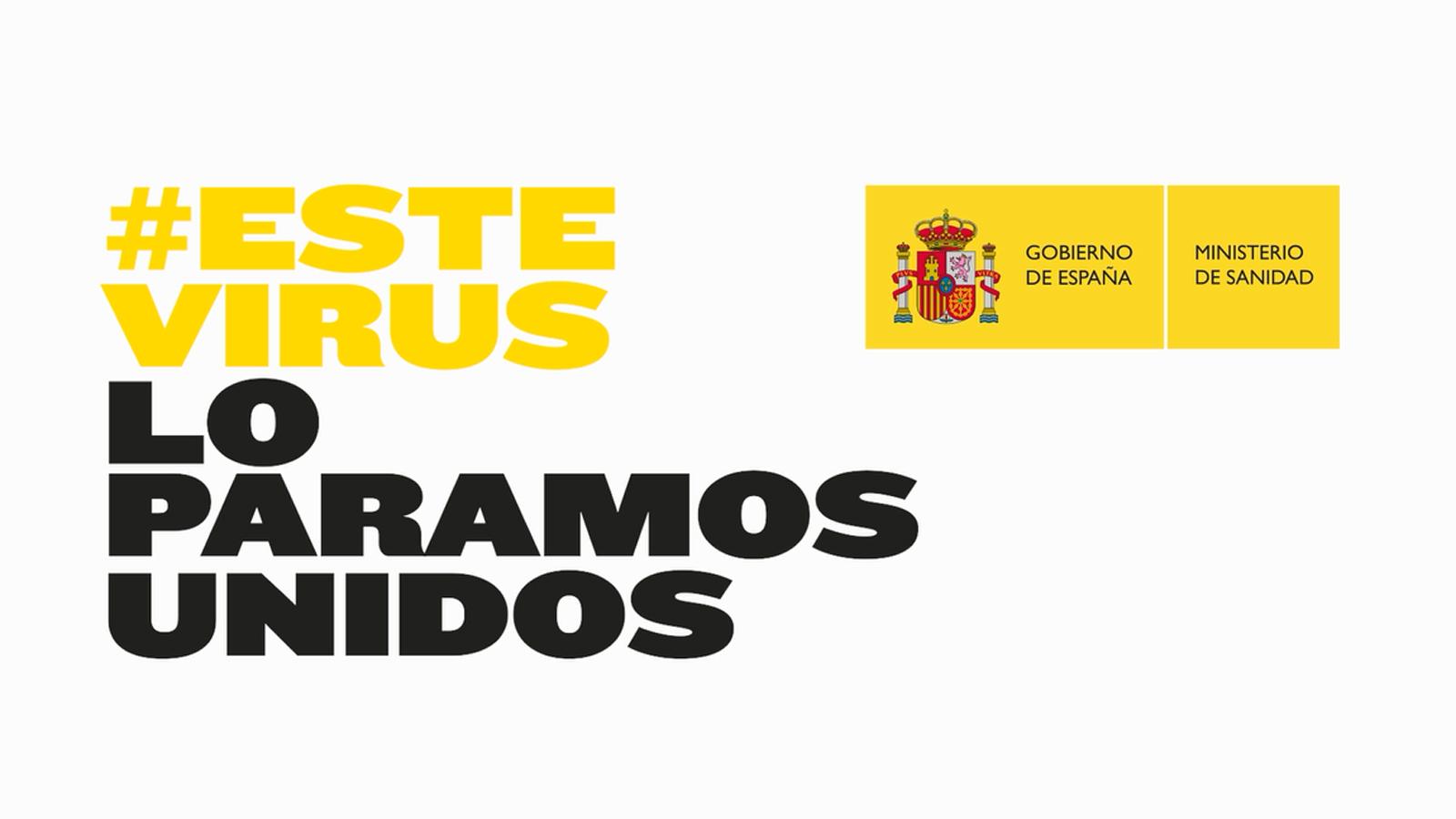 Ministerio de Sanidad | Este virus lo paramos unidos - RTVE.es