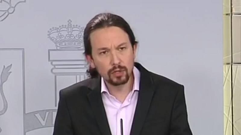 Iglesias anuncia la flexibilización de la regla de gasto de los ayuntamientos y un fondo extraordinario de 300 millones