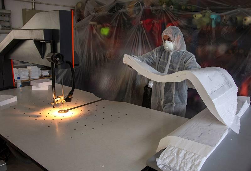 Madrid fabricará su propio material sanitario
