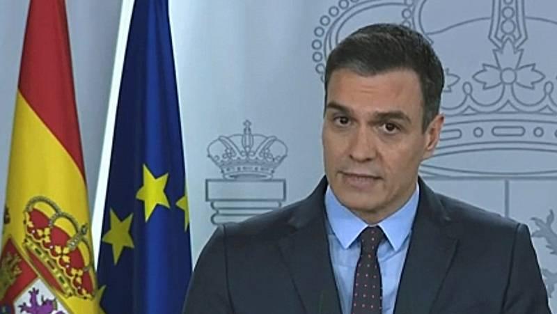 """Sánchez: """"Los españoles serán los que evaluarán qué hemos hecho las diferentes administraciones"""""""
