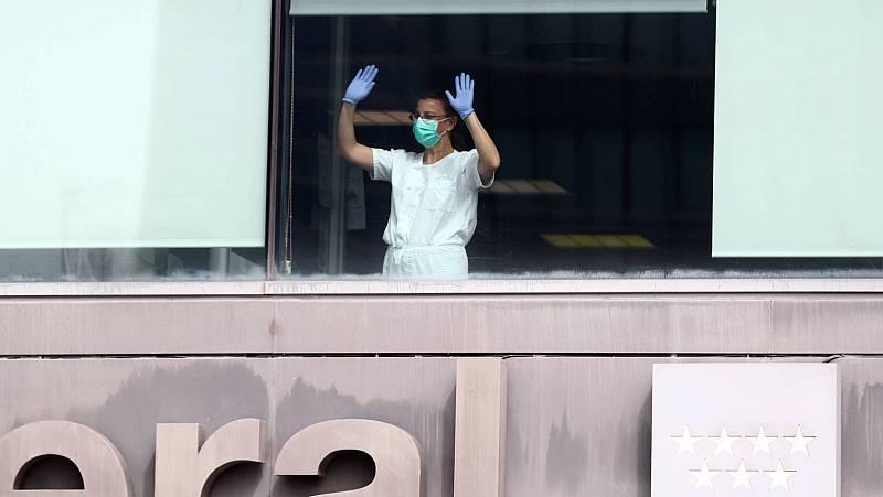 El personal sanitario de los hospitales está al límite y con más de 3.400 profesionales infectados por el coronavirus