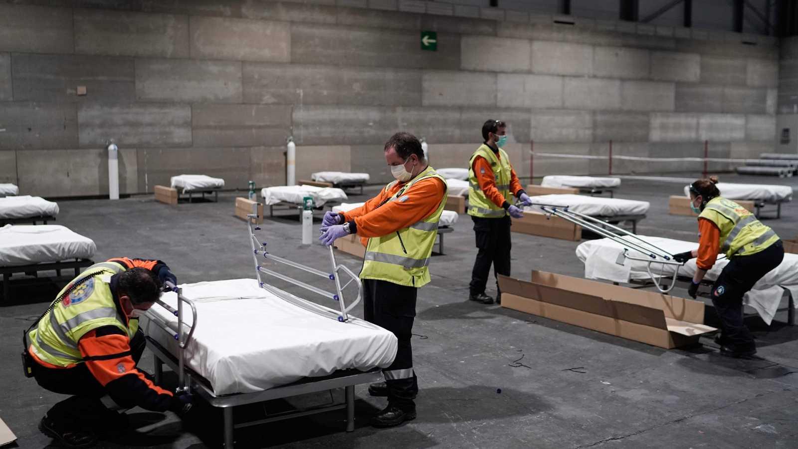 Ifema acoge a los primeros pacientes de coronavirus