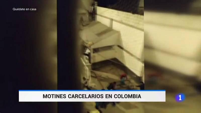 Motines carcelarios en Colombia