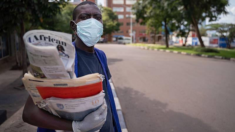 Vídeo: 300 millones de personas en África luchan contra el coronavirus sin agua corriente