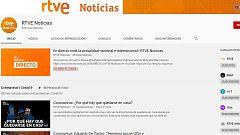 RTVE lanza su canal de noticias en Youtube