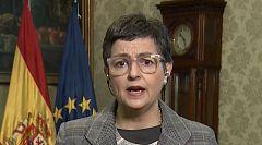 González-Laya asegura que las restricciones en las fronteras no se aplican a los españoles que quieren volver