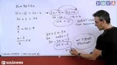 Aprendemos en casa - De 12 a 14 años - Matemáticas: Ecuaciones Primer Grado 1 con David Calle