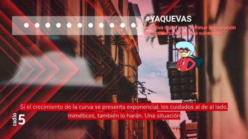 Radio 5 Actualidad - Solidaridad digital en tiempos de confinamiento