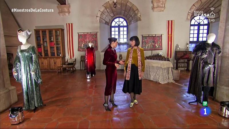 Maestros de la costura - Entrevista a Arantza Vilas, diseñadora del vestuario de 'Juego de Tronos'