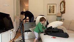 Todos en casa - Ion Aramendi monta un plató de televisión en su salón