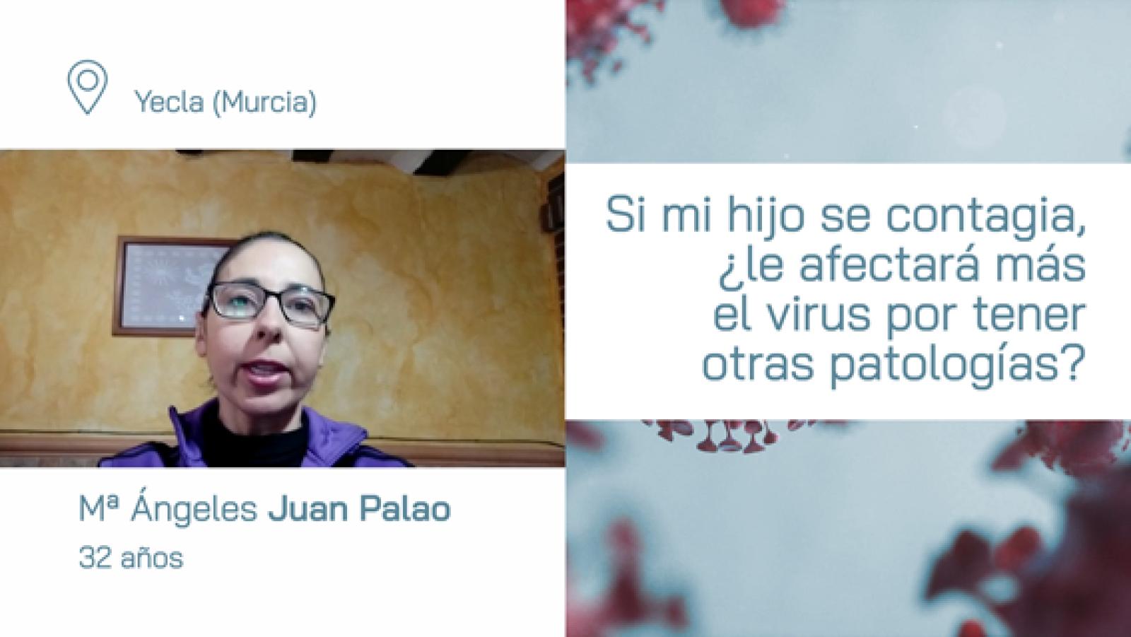 ¿Si se contagia mi hijo de coronavirus le afecta más que a otros por tener patologías?