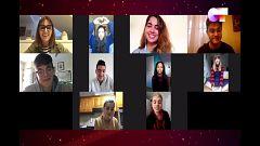 OT 2020 - Primera tutoría de Noemí con los chicos de OT 2020 a distancia