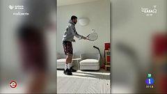 España Directo - Famosos confinados en casa por el coronavirus