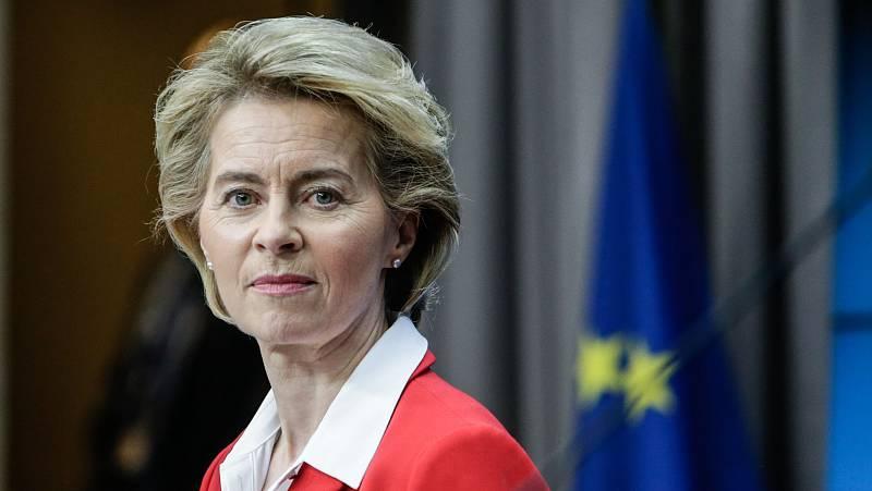 """Ursula von der Leyen, en el Telediario: """"Ningún Estado podrá gestionar esta crisis solo"""""""