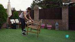 ¡Actividad cardiovascular con una silla!