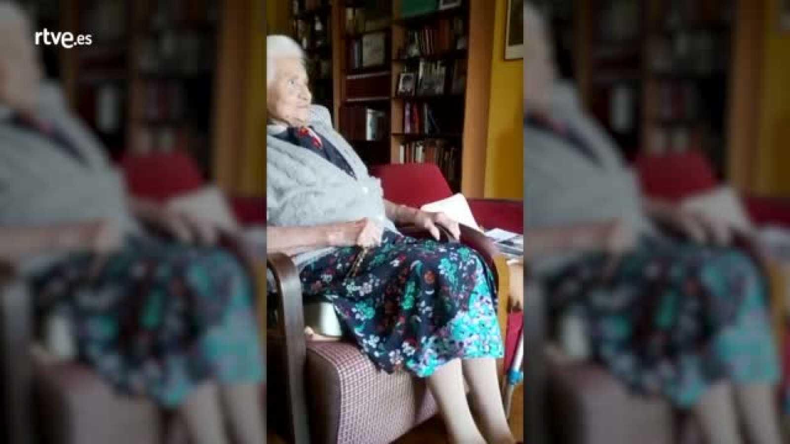 ¡La abuela de Cesc Escolà también se anima a hacer ejercicio!