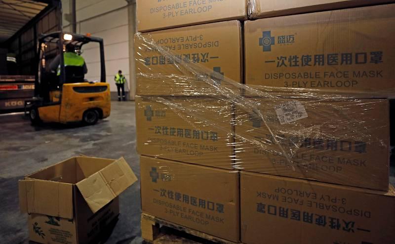 España compra a China material sanitario por valor de 432 millones de euros