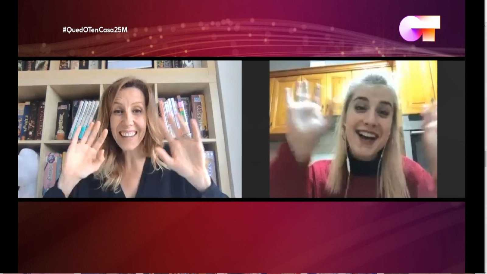 Andrea Vilallonga llama a Samantha para animarla