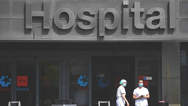El coronavirus tensiona cada día más los hospitales, en especial, los de Madrid