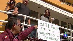 España Directo - Residencias de estudiantes convertidas en residencias para sanitarios y personal del ejército