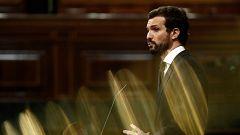 """Casado afea al PSOE que llamara """"asesinos"""" al PP cuando la crisis del ébola"""