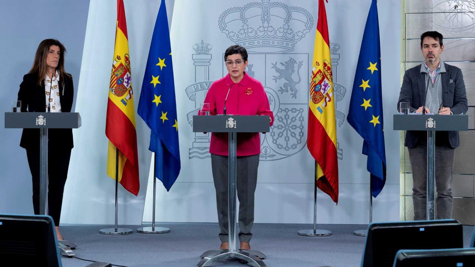 Exteriores prevé que puedan retornar 5.000 españoles atrapados en el extranjero por el coronavirus