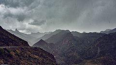 Precipitaciones fuertes en Baleares y Canarias