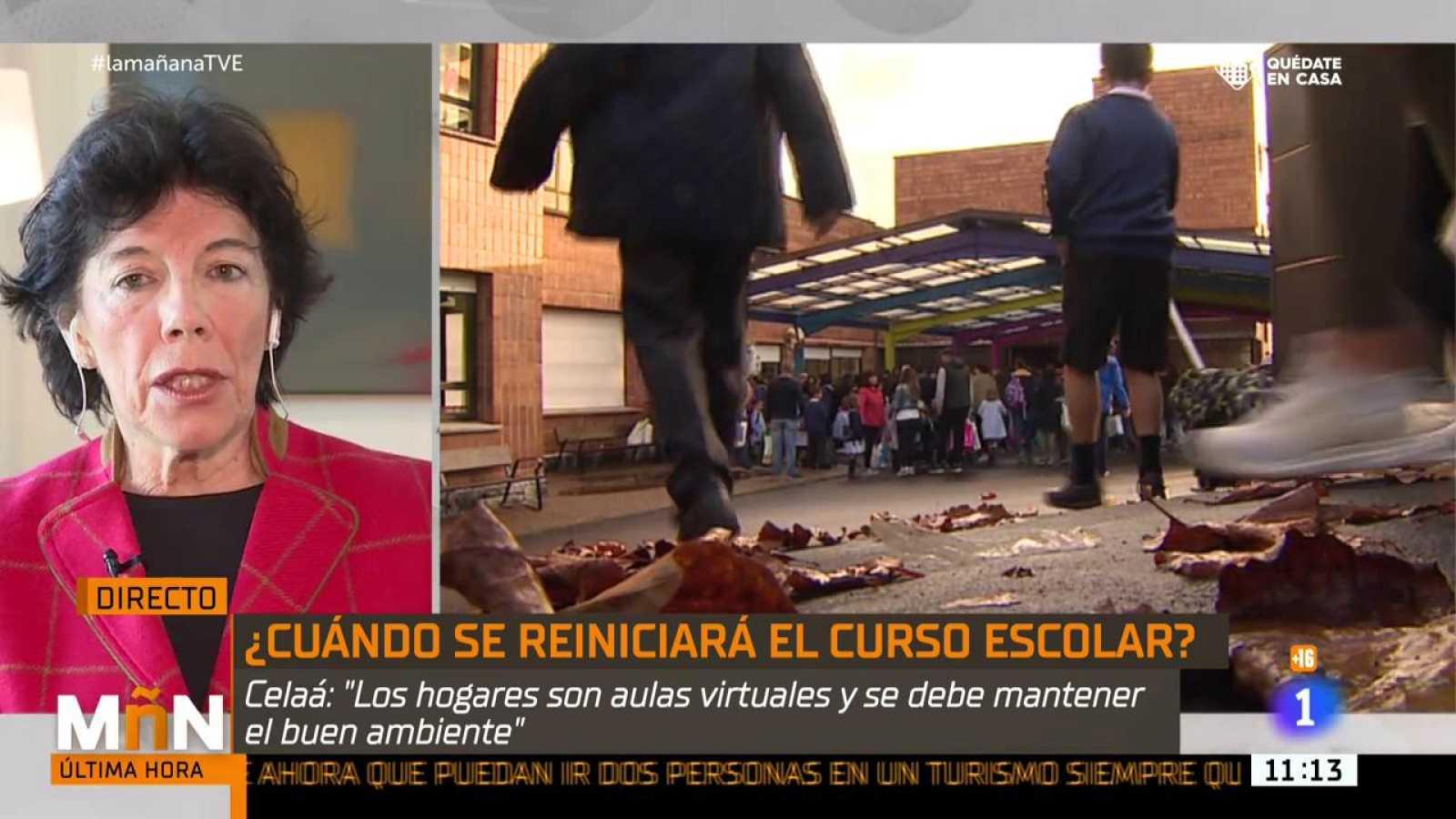Entrevista a Isabel Celaá, ministra de Educación en La Mañana