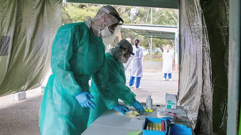 Más de 56.100 contagiados y más de 4.100 fallecidos con coronavirus en España