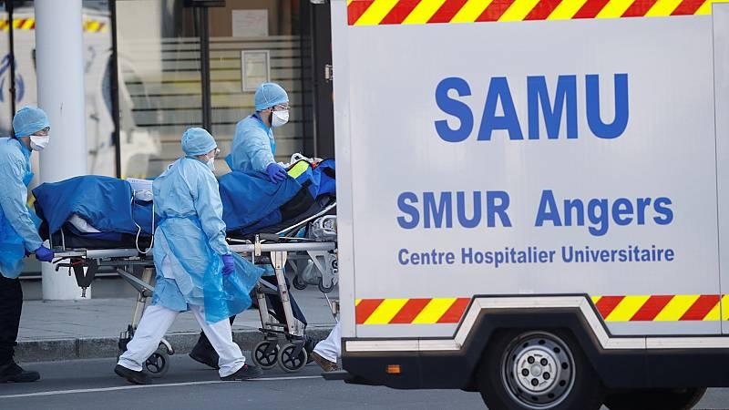 Francia multiplica por cinco el número de sus fallecidos por coronavirus