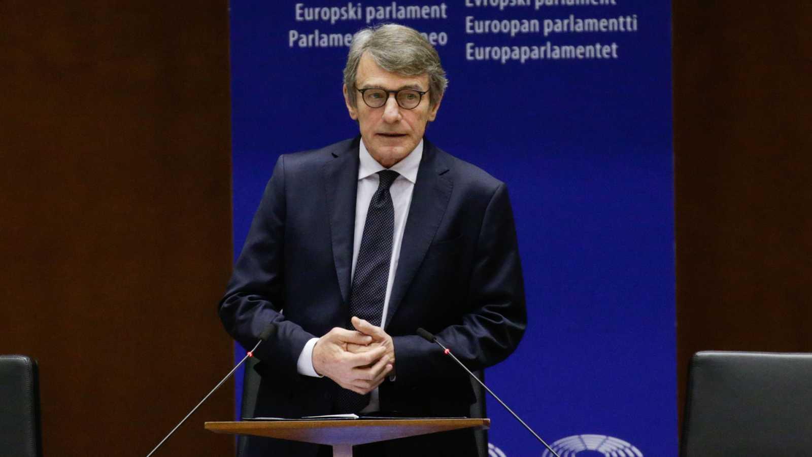 """Sassoli: """"Hay que superar el egoísmo de los Estados miembros"""""""