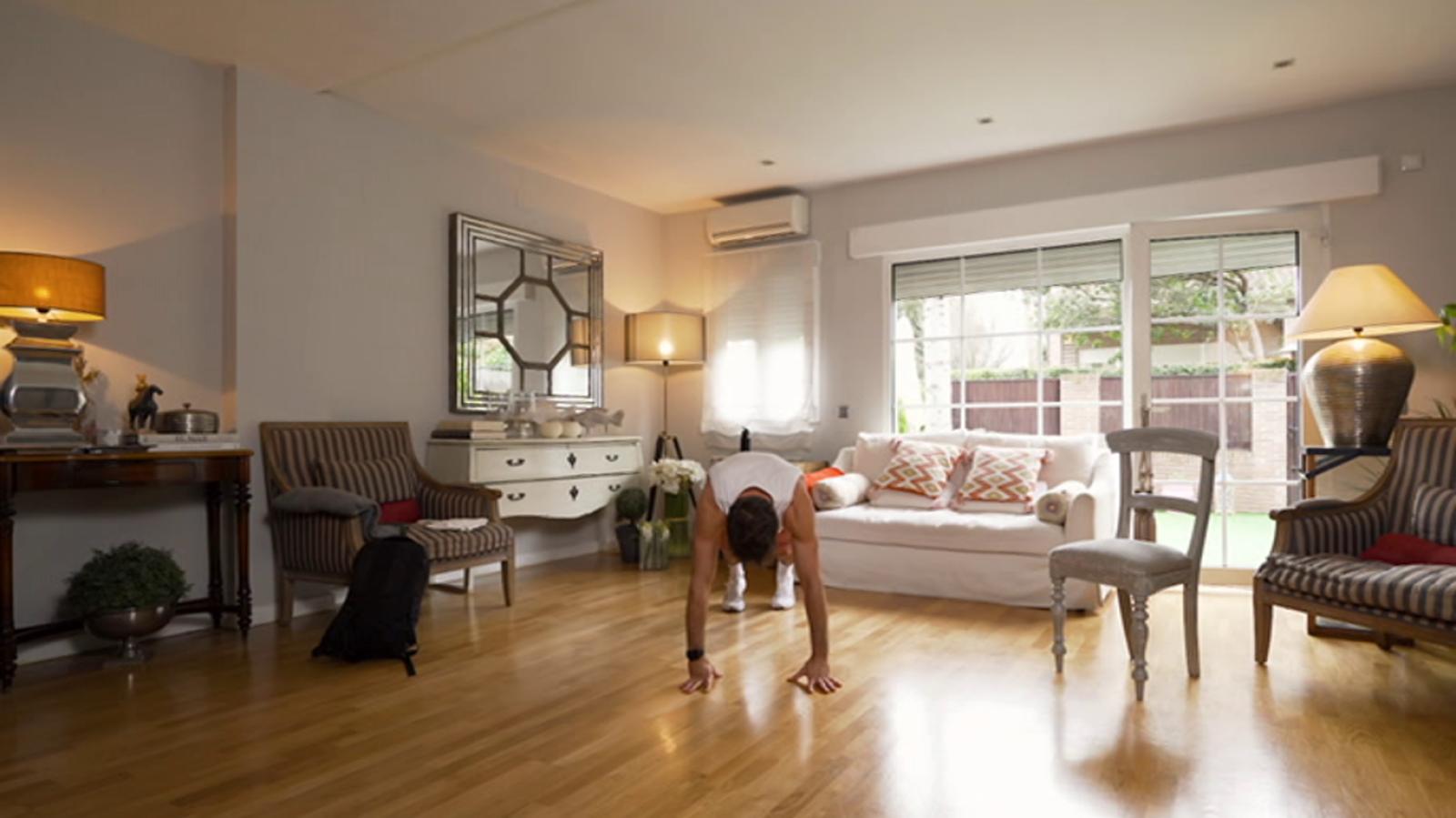 Muévete en casa - Programa 5 (cómo fortalecer cuadriceps y glúteos en casa) - ver ahora