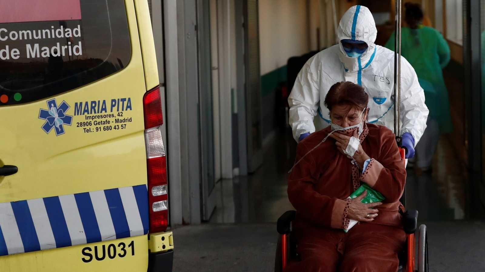 Un total de 769 personas mueren con coronavirus en las últimas 24 horas, la cifra más alta hasta la fecha