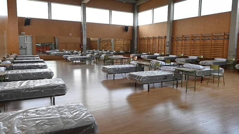 MSF instala dos pabellones de apoyo a hospitales de Leganés y Alcala de Henares