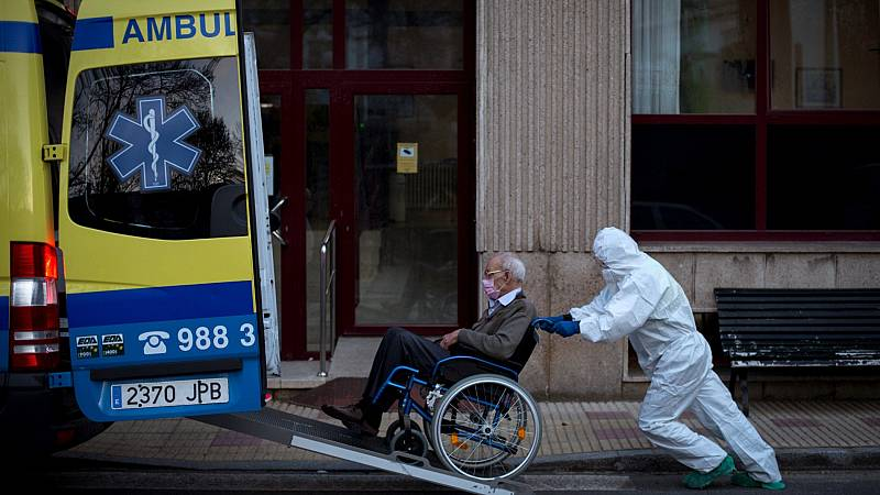 España registra el mayor número de muertes con coronavirus en un día: 769 fallecidos