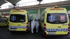 Los hospitales de la Comunidad de Madrid continúan en una situación límite por el coronavirus