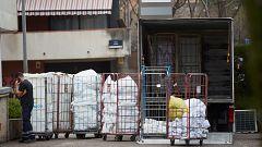 Las lavanderías de los hospitales extreman las precauciones para evitar contagios