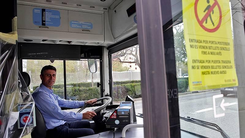 Vídeo: El transporte público continúa funcionando como servicio esencial