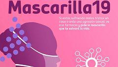 """Canarias lanza la campaña """"mascarilla 19"""" contra la violencia de género durante el confinamiento"""