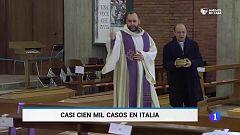 Casi 100.000 casos en Italia